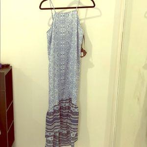 Knox Rose blue hi-low dress
